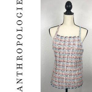 Anthro Akemi + Kin XL Colorful Knitted Tank Top